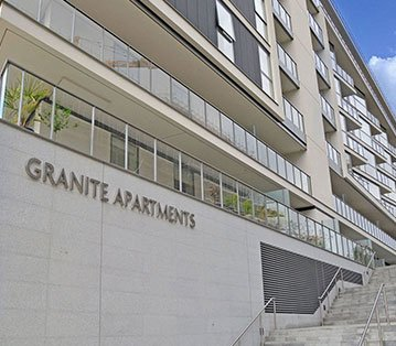 The River Gardens Pool &  Granite Staircase