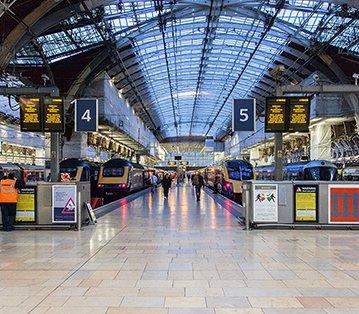 Paddington Station Staircase